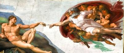 Die Erschaffung Adams Bild