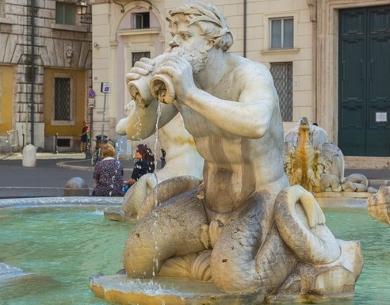 Moor Brunnen Rom