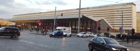 Der Hauptbahnhof Rom in der Gesamtansicht