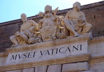 Eingang Vatikanische Museen
