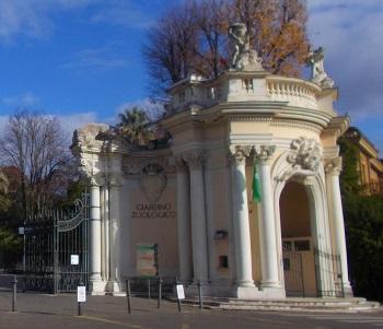 Zoo Rom Eingang