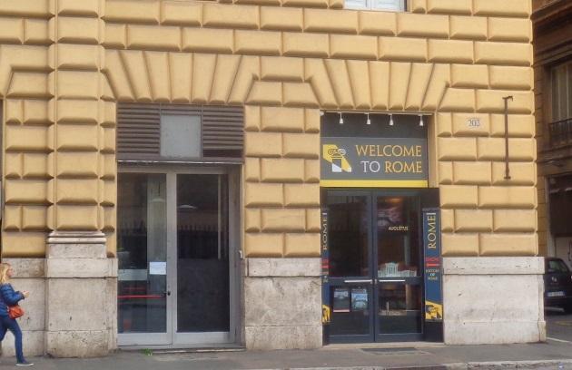 Welcome to Rome (Außenansicht)